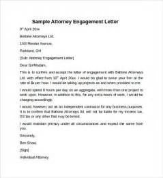 letter of engagement template sle engagement letter 9 free documents in