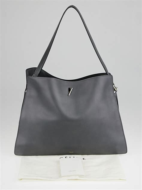 New Hermes Carry On Smooth Leather Free Hermes Purse Chains Hardware G grey smooth leather new shoulder bag yoogi s closet
