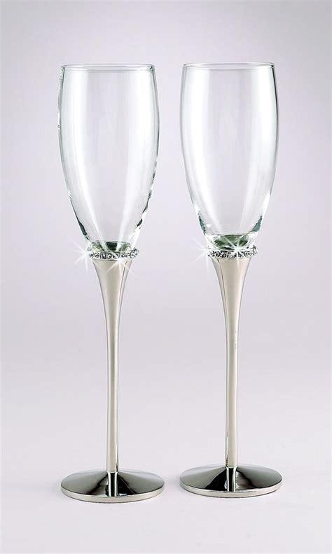 Wedding Glasses 17 17 best images about wedding flutes and serving sets on