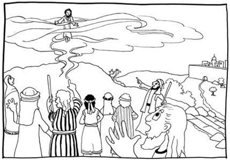 sunday school coloring pages jesus ascension jesus ascension into heaven coloring pages
