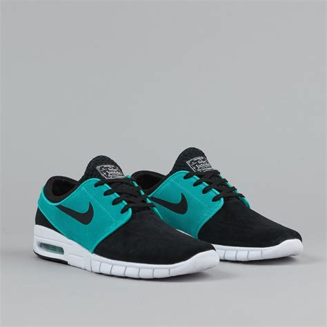 Nike Stevan Janosky 2 nike sb stefan janoski max suede shoes black lt retro white flatspot