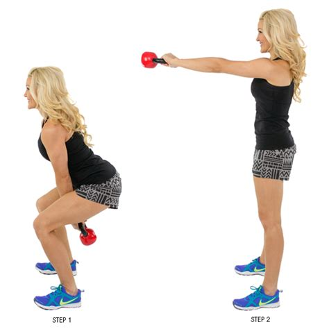kettlebell swing exercises 9 moves to get the most out of your kettlebells