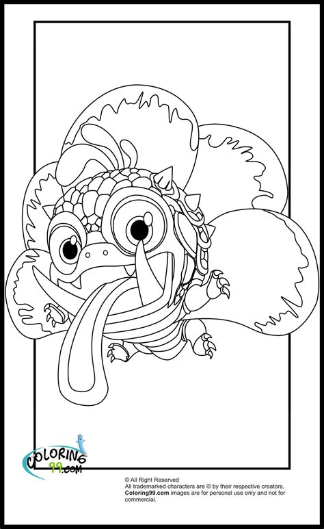 skylanders dragons coloring pages skylanders magic element coloring pages minister coloring