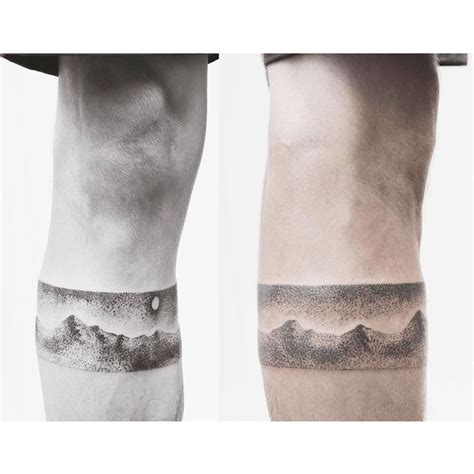 calf band tattoo 111 best images on designs
