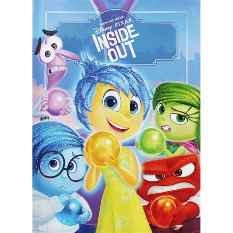 inside out books disney pixar inside out by disney disney books at the works