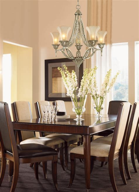 Silver Dining Room Chandeliers Home Chelsea Collection 5 Light 30 Quot Aged Silver