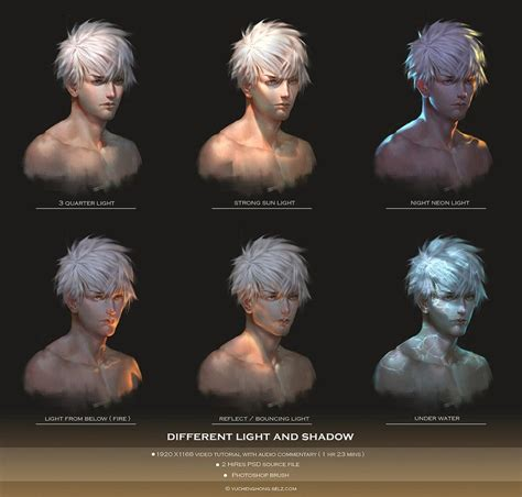 illustrator tutorial light light and shadow video tutorial by yuchenghong on