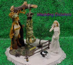 Wedding cake toppers camo wedding cake toppers