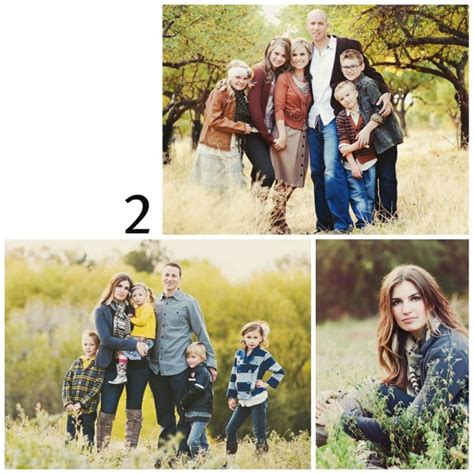 Family Portrait Poses favorite outdoor family portrait poses family brings