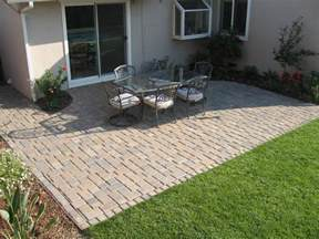 paver patio ideas with useful function in stylish designs