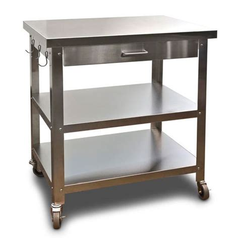 kitchen island cart stainless steel top 17 best ideas about stainless steel kitchen cart on