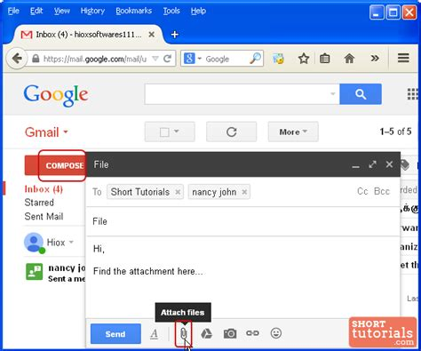 Gmail Search For Emails With Attachments How To Attach Files To An Email Attachments In Gmail