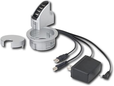 belkin in desk usb hub belkin international inc f5u201 kit best buy