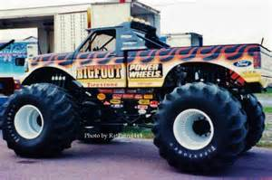 Bigfoot Truck Wheels Power Wheels Bigfoot The 1st Truck