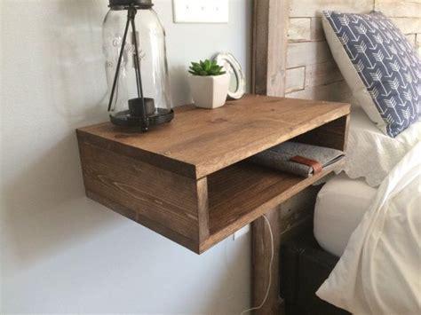 floating shelf side table best 25 floating shelves bedroom ideas on