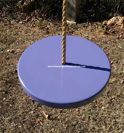disc tree swing wood tree swing painted discs