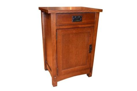 Mission Style Nightstands Mission Style Oak Nightstands One Drawer Will Be Okay