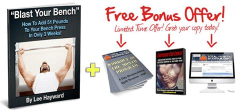 blast your bench blast your bench program