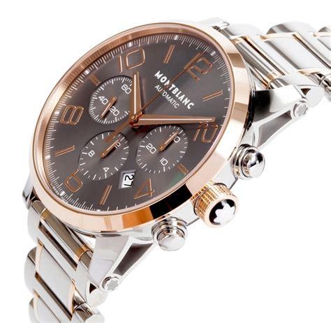 Premium Bracelet Montblanc Brand Gold Leather Stanless Steel Box montblanc 107321 thailand best montblanc timewalker premium watches from