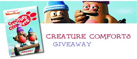 creature comforts christmas special toonhound creature comforts series ii giveaway