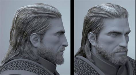 beard and hairstyles witcher geralt from the witcher his beard and hair are so life