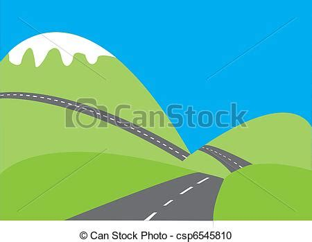 graphic design hill road vector clipart of hills and road 2 hills and roads
