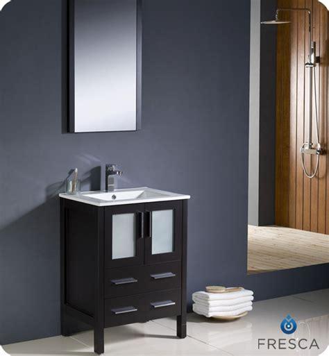 Modern Bathroom Finishes Fresca Torino 24 Quot Modern Bathroom Vanity Espresso Finish