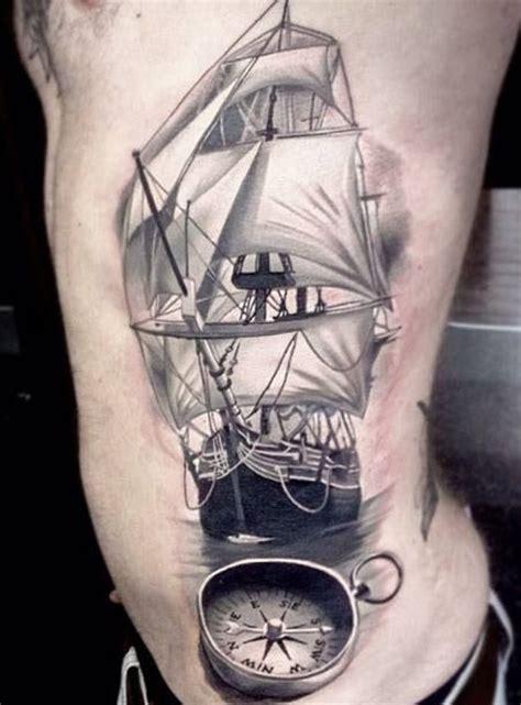 compass tattoo on ribs pinterest the world s catalog of ideas