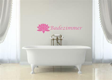 Wandtatoo Badezimmer by Badezimmer Wandtattoos Centralstyle De