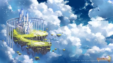 Castle In The Sky sky castle by zhowee14 on deviantart