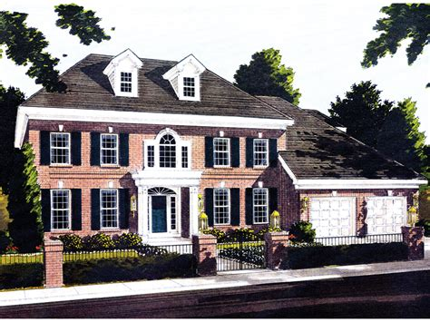 Georgian Mansion Floor Plans by Webster Woods Georgian Home Plan 065s 0015 House Plans