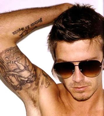 beckham tattoo ribs meaning david beckham tattoos and the meaning a star news gallery
