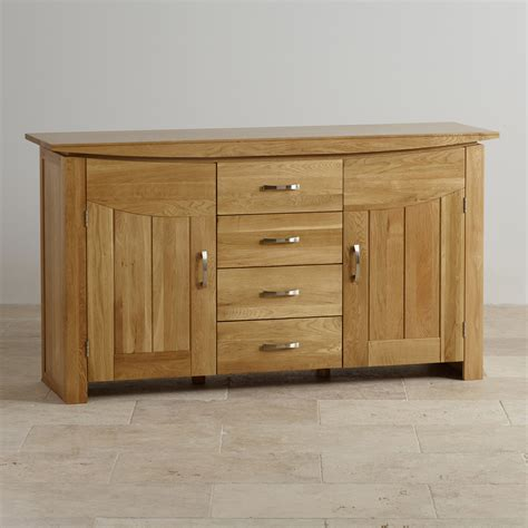 Oak Furniture Land Sideboard tokyo large sideboard in solid oak oak furniture land