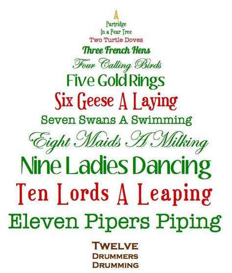 twelve days of christmas dressed to a t