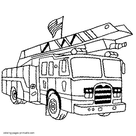coloring book printers usa usa truck coloring page
