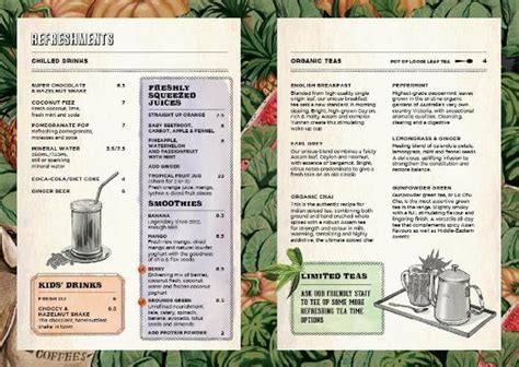 Potting Shed Menu by The Potting Shed Menu Page 3 Kuva The Grounds Of