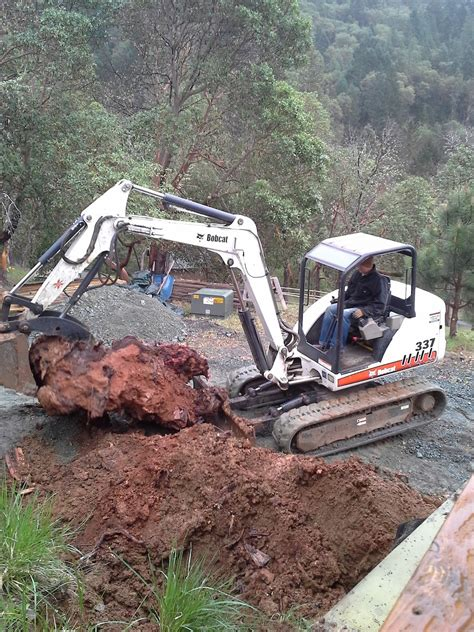 Backyard Excavation by Grants Pass Stump Removal From Yard Daily Sons
