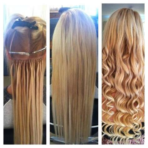 micro bead hair extensions hair extension before and after photos hairstyles
