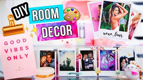Room Decor Laurdiy Diy Room Decor Ideas 2017