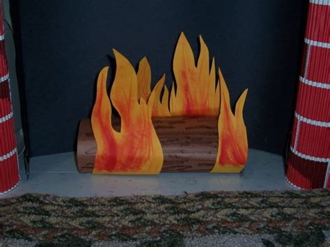 How To Make A Fireplace Out Of Paper - 13 best images about faux place on