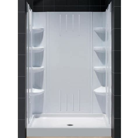 32 X 36 Shower Dreamline Back Walls And 48x36 Inch Base Shower Kit