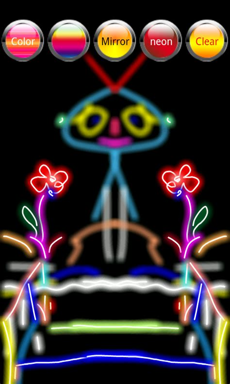 glow doodle drawing pad doodle draw paint 1mobile