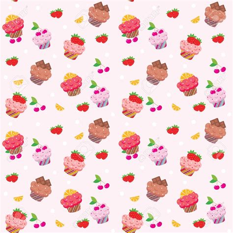 hd cupcake pattern wallpaper clipart cupcake pencil and in color wallpaper