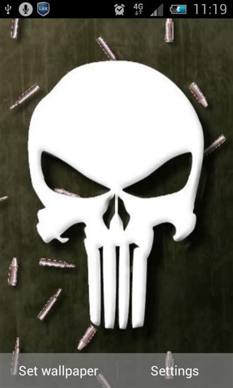 the punisher apk free the punisher live wallpaper apk for android getjar