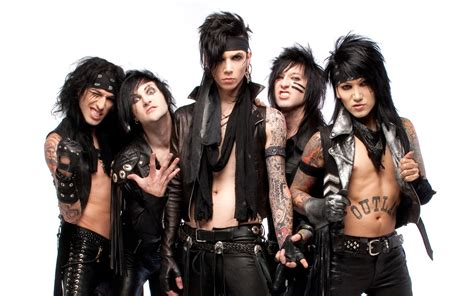 black veil brides in the end black veil brides announce the church tour ii with heaven