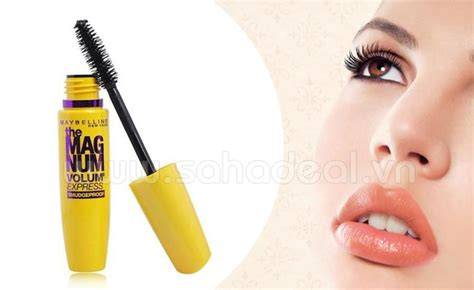 Maybelline Mascara The Magnum Volume Express the magnum volum express waterproof mascara magnum