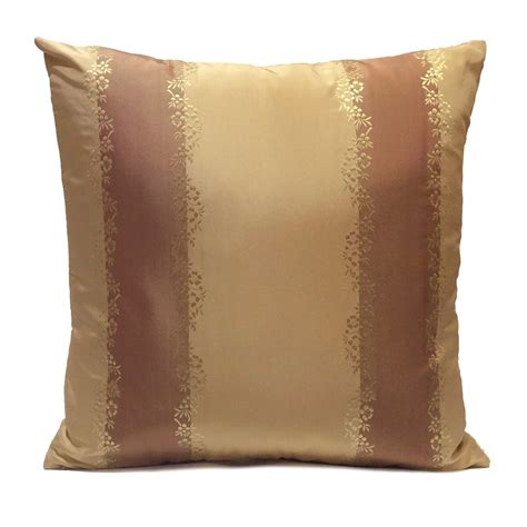 Copper Pillow by Beige And Light Copper Rust Pillow Throw Pillow Cover