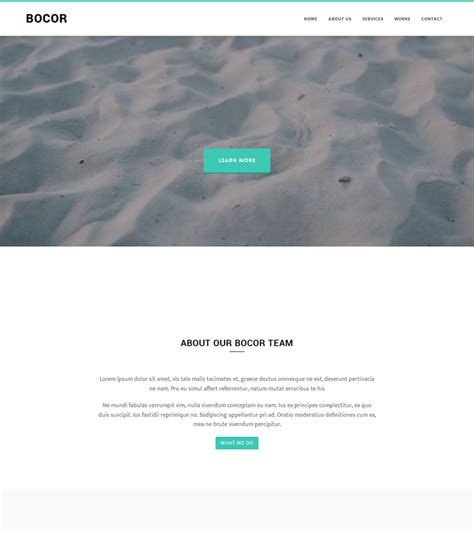 Bootstrap Themes Free Animated   bocor bootstrap template with nice animation