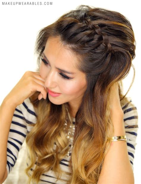 cute hairstyles headband braid 3 easy peasy headband braid hairstyles for lazy girls