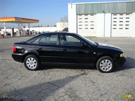Audi A4 1 8t Black brilliant black 2000 audi a4 1 8t quattro sedan exterior